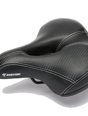 ieftine Sport i aktivnosti na otvorenom-Șa Bicicletă Extra larg Respirabil Comfort PU piele silicagel Ciclism Bicicletă șosea Bicicletă montană Negru