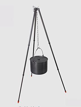 billige Sport og friluftsliv-ALOCS Stativer Enkelt Bærbar Holdbar til Hard Alumina utendørs Camping & Fjellvandring Jakt Klatring