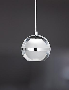 お買い得  ホーム&ガーデン-UMEI™ ボール形 ペンダントライト アンビエントライト クロム メタル アクリル LED 110-120V / 220-240V Warm White / Cold White LED光源を含む / 集積LED / FCC