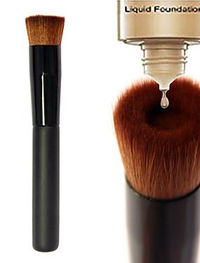 halpa perusta harjat-ammattilainen Makeup Harjat Alusvoidesivellin 1pcs Kannettava Ekologinen Ammattilais Rajoittaa bakteereja Synteettinen tukka / Keinoharjainen sivellin Puu Meikkisiveltimet varten