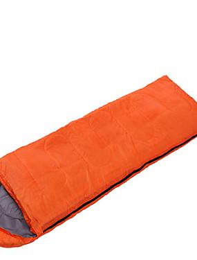 povoljno Sport és outdoor-Sheng yuan Vreća za spavanje Vanjski Pravokutna vreća 10 °C Za jednu osobu Hollow Pamuk Vodootporno Prijenosno Vjetronepropusnost Otporno na kišu Prozračno Može se sklopiti Zapečaćeno 230*100 cm