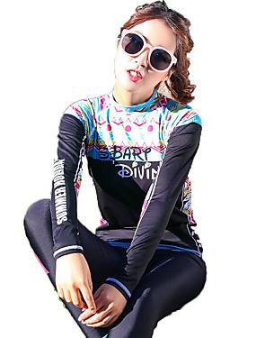 ieftine Sport i aktivnosti na otvorenom-SBART Pentru femei Elastan SPF50 Protecție UV la soare Uscare rapidă Manșon Lung Înot Surfing Modă Primăvară Vară Toamnă