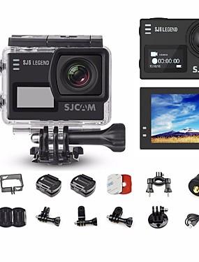 povoljno Sport és outdoor-SJCAM SJ6000 Akcija kamere / Sports Camera Vlogging Višefunkcijski / Wifi / G-Sensor 128 GB 60fps / 120fps / 30fps 8 mp / 5 mp / 3 mp 4X 2560 x 1920 Pixel / 640 x 480 Pixel / 1920 x 1080 Pixel 2 inch