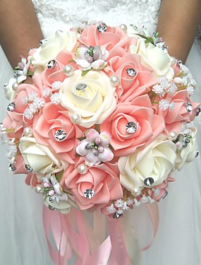"""povoljno Vjenčanja i eventi-Cvijeće za vjenčanje Buketi Vjenčanje Poliester 7.87 """"(Approx.20cm)"""
