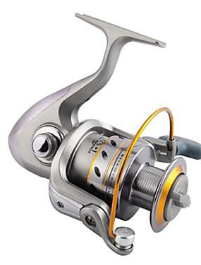 billige Sport og friluftsliv-Fishing Reel Bearing Spinne-hjul 5.2:1 Gear Forhold+13 Kulelager Hånd Orientering Byttbar Ferskvannsfiskere / Lokke Fiske / Generelt fisking - GLA4000 / Trolling- & Båtfiskeri