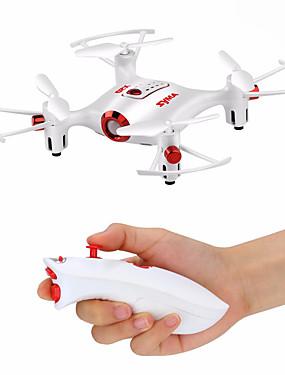 billige Salg-RC Drone SYMA X20-S 4ch 6 Akse 2.4G Fjernstyrt quadkopter LED Lys / En Tast For Retur / Hodeløs Modus Fjernstyrt Quadkopter / USB-kabel / Skrutrekker / Flyvning Med 360 Graders Flipp