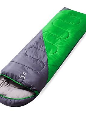 povoljno Sport és outdoor-Sheng yuan Vreća za spavanje Vanjski Vreća za dvoje Pravokutna vreća 20 °C Za jednu osobu Hollow Pamuk Vjetronepropusnost Ugrijati Sklapanje Pasti Zima za Camping & planinarenje Kampiranje