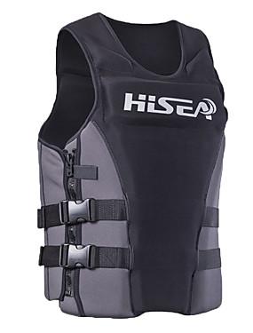 povoljno Sport és outdoor-HISEA® Jakna za spašavanje Lagani materijali Neopren Plivanje Ronjenje Plaža Majice za Odrasli / Rastezljivo