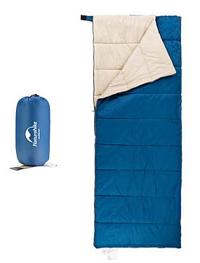 povoljno Sport és outdoor-Naturehike Vreća za spavanje Vanjski Pravokutna vreća 5-15 °C Za jednu osobu T / C pamuk Prijenosno Prozračnost Toplo Ultra Light (UL) 190*75 cm Proljeće Ljeto Jesen za Camping & planinarenje