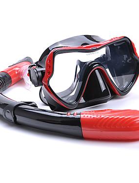 povoljno Sport és outdoor-YON SUB Paketi za ronjenje s disalicom Ronilački paketi - Maska za ronjenje Dihalica - Anti-Magla Sprječava ulazak vode Prilagodljiva traka Plivanje Ronjenje Silikonska guma  Za Odrasli
