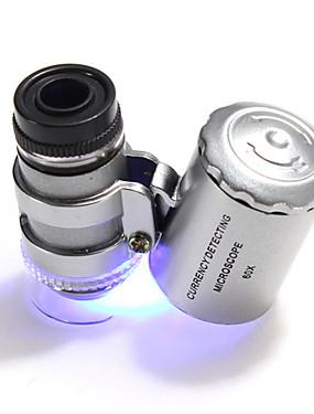 povoljno Sport és outdoor-60 X 10 mm Mikroskop Prijenosno Camping & planinarenje Uporaba Plastika Metal