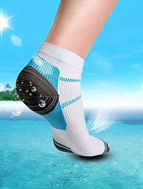 povoljno Timski sportovi-Muškarci Kompresija čarape Ublažavanje boli noga, Sportski Za 3 para Sva doba