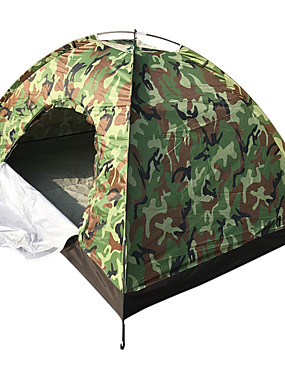 povoljno Sport és outdoor-4 osobe Šator Vanjski Ugrijati Motka Dome šator za kampiranje za Camping & planinarenje Ostali materijal 200*140*110 cm