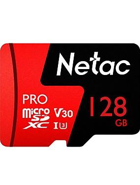 ราคาถูก ไมโคร SD การ์ด/TF-Netac 128GB การ์ดหน่วยความจำ UHS-I U3 / V30 P500pro