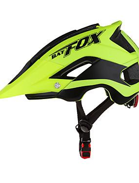 povoljno Sport és outdoor-BAT FOX Odrasli Bike kaciga 8 Ventilacijski otvori Otporan na udarce Integralno oblikovana EPS PC Sportski Cestovni bicikl Mountain Bike Biciklizam / Bicikl - Plava Red and White Crno bijela  /