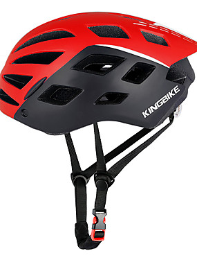 cheap Sports & Outdoors-Kingbike Adults' Bike Helmet with Goggle 26 Vents CE Impact Resistant Integrally-molded Ventilation EPS PC Sports Road Bike Mountain Bike MTB Outdoor Exercise - Red Green Blue Men's Women's Unisex
