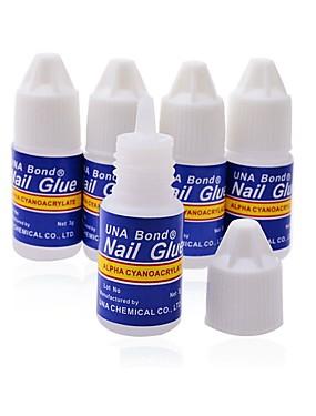 voordelige puntjes gereedschap-3 stuks Kristal Nail Art Tool Nail DIY Tools puntjes gereedschap Voor Transparant Nagel kunst Manicure pedicure Nagellijm Dagelijks