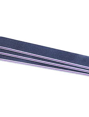 voordelige Nagelvijlen & Buffers-1 set Muovi Nail Art Tool Voor Vingernagel Slijtvast / Duurzaam / Licht en comfortabel White Series Nagel kunst Manicure pedicure Eenvoudig Dagelijks