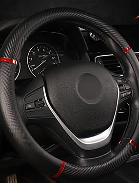 billige Ugentlige tilbud2-universell bil ratt deksel kunstig skinn komfortabelt glidende bil styrehjul deksel