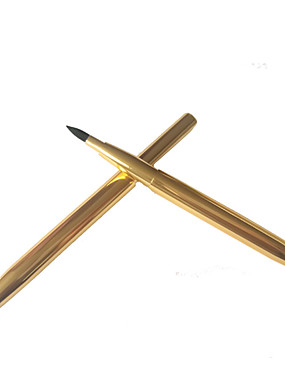 baratos Pincéis para Lábios-Profissional Pincéis de maquiagem 1 Peça Profissional Macio Confortável alumínio para Pincel para Lábios