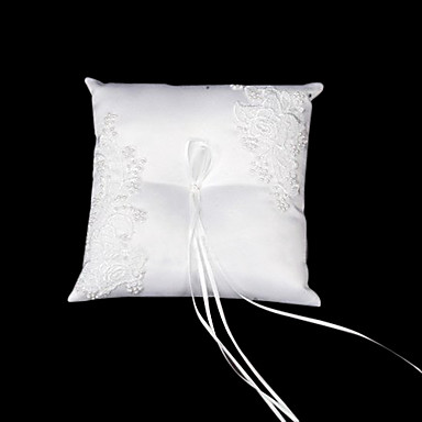 Uzde Saten / Rayon ring pillow Vrt Tema Proljeće / Ljeto / Jesen