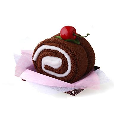 Kuchen-förmig verpacktes Handtuch