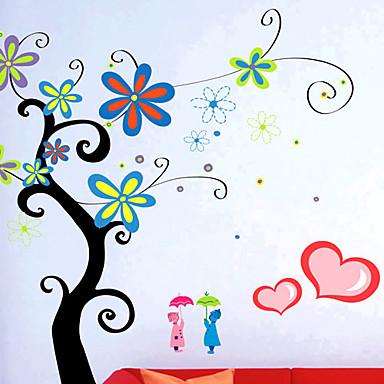стильные наклейки стены цветок (0732-XM-JJ-014)