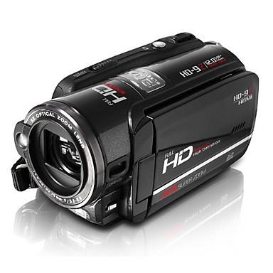 HD-9z 캠코더 DVR 5.0mp CMOS는 3.0inch LCD 디스플레이 20x 줌 MOV H.264 quanlity (dce337)와 고화질 비디오 기록을 1080p의