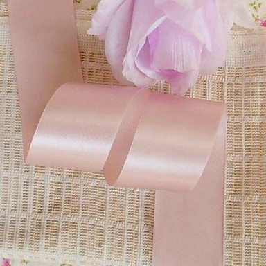 Creative Culoare solidă Panglică Satin Panglici de nunta Piece / Set Panglică satin Decor Nuntă Unic Suport cu decorațiuni pentru