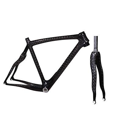 Road Frame Komple Karbon Bisiklet Çerçeve 700C 3K 12K santimetre inç