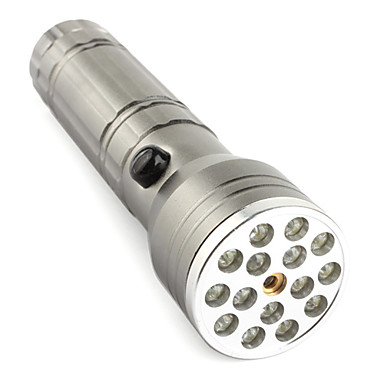LED Flashlights / Torch Laser LED lm Mode Camping/Hiking/Caving Silver