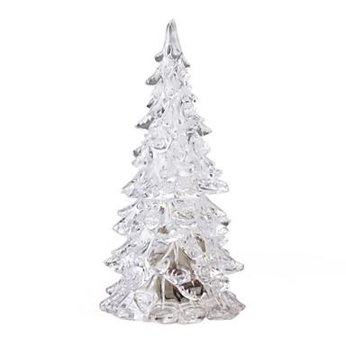nyhed juletræ LED krystal lys (farverig)