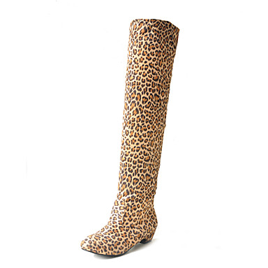 veludo elástico no calcanhar superior chunky mais botas no joelho lua de mel sapatos mais cores disponíveis