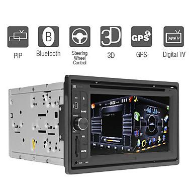 6,2 tuuman digitaalinen kosketusnäyttö 2DIN auto dvd-soitin gps PIP TV rds bluetooth
