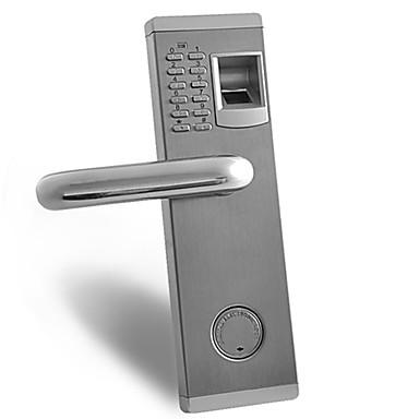 G347 ZWX-001 Left 304 Paslanmaz Çelik Parola Parmak İzi Kilidi Akıllı Ev Güvenliği sistem Ev Villa Otel Apartman Paslanmaz Çelik Kapı