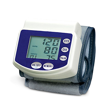 Digital Blood Pressure Monitor Wrist Style