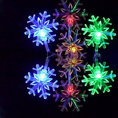 6m Žice sa svjetlima 32 LED diode RGB Promjenjive boje 110-220 V