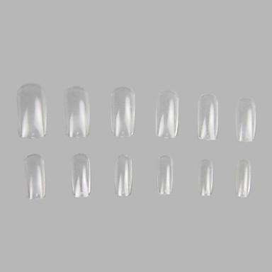 600 Pro Clear Well False Acrylic Nail Art Tips