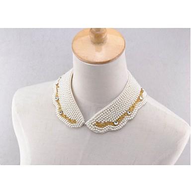 Women's Hand-beaded Bib Collar