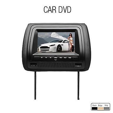 7 pouces cran num rique de voiture lecteur dvd appuie t te metteur fm usb sd jeu de. Black Bedroom Furniture Sets. Home Design Ideas