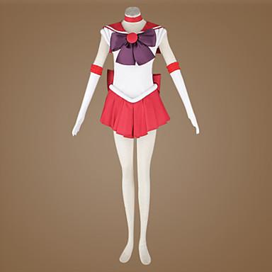 Inspiriert von Sailor Moon Sailor Mars Anime Cosplay Kostüme Cosplay Kostüme Patchwork Top Für Herrn Damen