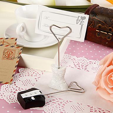 billige Bordkort og holdere-bordkort og holdere klassiske bruden og brudgommen placecard innehaver (sett med 4 par)