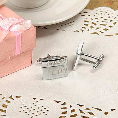 slitina zinku Manžetové konflíčky a kravatové spony ženich družba Svatební Výročí Narozeniny