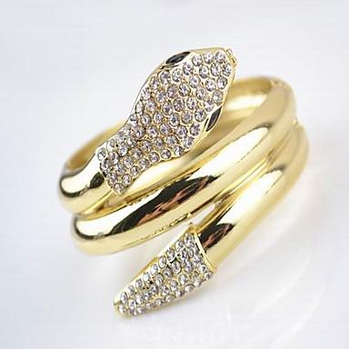 strass bracciali unisex in lega d'oro