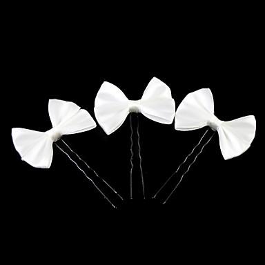 Saten / Legura Šeširi / Kosa za kosu s Cvjetni print 1pc Vjenčanje / Special Occasion / Kauzalni Glava