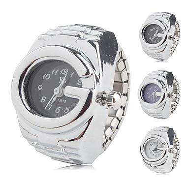pentru Doamne Ceas La Modă Japoneză Quartz Bandă Vintage Argint Alb Negru Mov