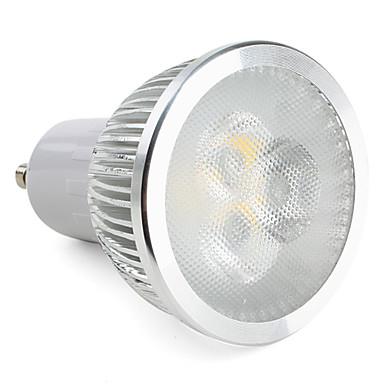 310lm GU10 LED Spot Işıkları MR16 3 LED Boncuklar Yüksek Güçlü LED Kısılabilir Sıcak Beyaz 220-240V