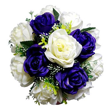 Svatební kytice Kytice Svatební Satén 22 cm (cca 8,66