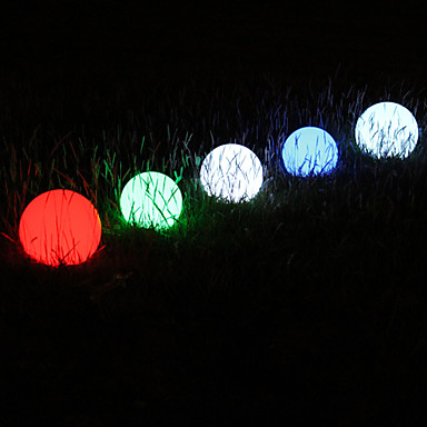 7.5V Outdoor LED Light in Ball Shape - Color Changing