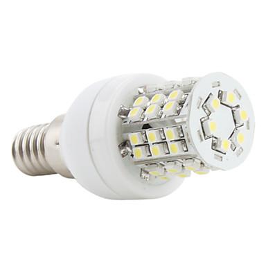E14 LED Corn Lights 48 SMD 3528 150 lm Natural White 5500K K AC 220-240 V